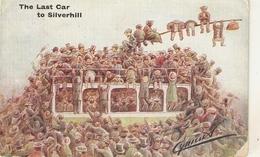 """Cynicus. The Last Car To Silverhill"" Humorous Antique English Postcard - Ilustradores & Fotógrafos"