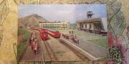Ukraine, Donetsk Pioneer Railway Station  -  - LA GARE - BAHNHOF  - 1980s - Stations With Trains