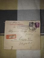 Deutsches Reich Landpost Einschreiben Brief Sonderstempel 1931 Ludwigslust über Stolp (Pomm) Land Leipzig Lot 170D - Deutschland