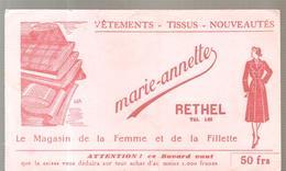 Buvard Marie-annette à RETHEL Le Magasin De La Femme Et De La Fillette - Textile & Clothing