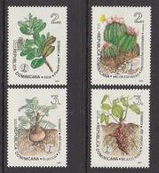 1995 Dominican Republic Dominicana  Medicinal Plants Health  Complete Set Of 4 MNH - Dominicaine (République)