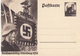 Deutsches Reich Postkarte P252 1934 - Deutschland