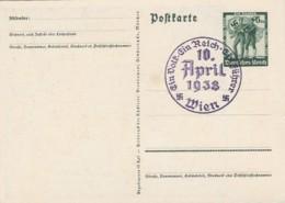 Deutsches Reich Postkarte Propagande 1938 Ein Volk Ein Reich Ein Fuhrer - Deutschland