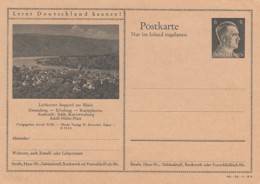 Deutsches Reich Postkarte P307 1942 - Deutschland