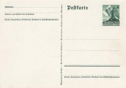 Deutsches Reich Postkarte P275 1938 - Deutschland