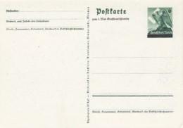 Deutsches Reich Postkarte P279 1938 - Deutschland