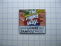 THE RIGHT WAY  EINE LEHRE BEI SANDOZ BASEL - Medical