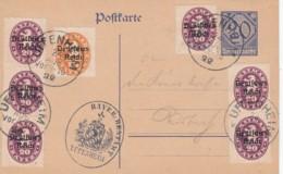 Deutsches Reich Postkarte INFLA Dienst 1920-23 - Deutschland