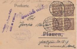 Deutsches Reich Postkarte INFLA Dienst 1920-23 - Lettres & Documents