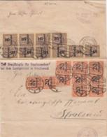 Deutsches Reich Dokument INFLA Dienst 1920-23 - Lettres & Documents