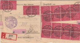 Deutsches Reich Dokument INFLA Dienst 1920-23 - Deutschland