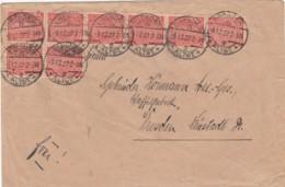 Deutsches Reich Brief INFLA Dienst 1920-23 - Lettres & Documents