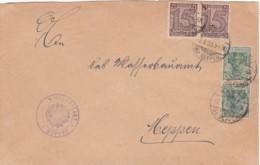 Deutsches Reich Brief INFLA Dienst 1920-23 MIF Freimarke + Dienst - Lettres & Documents