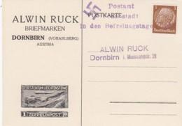 Deutsches Reich Postkarte 1938 Befreiungstage Frankenstadt - Deutschland