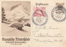 Deutsches Reich Postkarte 1935 Olympiade - Deutschland