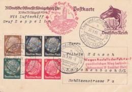 Deutsches Reich Postkarte 1939 Zeppelin Deutschlandfahrt - Deutschland