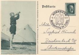 Deutsches Reich Postkarte 1937 P264/07 - Deutschland