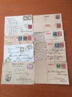 +++ Sammlung/Collection AD Bayern 10 Postkarten Ab Circa 1887 +++ - Timbres