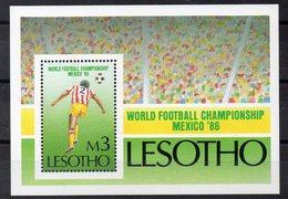 LESOTHO Timbre Neuf ** De 1986  (ref 5995 ) Sport - Football - Lesotho (1966-...)