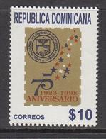 1998 Dominican Republic Dominicana  American Chamber Commerce  Complete Set Of 1 MNH - Dominicaine (République)