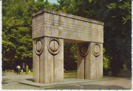 Romania Kruger Germany - Targu Jiu Constantin Brancusi Sculpture Unused (ask For Verso) - Romania