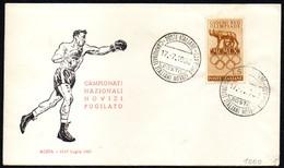 BOXING - ITALIA AOSTA 1960 - CAMPIONATI NAZIONALI NOVIZI PUGILATO - Scherma