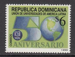 1999 Dominican Republic Dominicana  Universities Education Complete Set Of 1 MNH - Dominicaine (République)