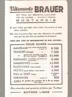 Buvard VETEMENTS BRAUER 107, Rue Du Général Leclerc à Montargis (Loiret) - Textile & Clothing