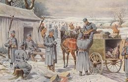 AK - I. WK - Ankunft Der Österr. Feldpost In Der Etappenstation  1914/15 - Weltkrieg 1914-18