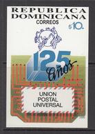 1999 Dominican Republic Dominicana  UPU Souvenir Sheet  MNH - Dominicaine (République)