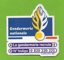 LA GENDARMERIE NATIONALE RECRUTE * AUTOCOLLANT  2589 * - Autocollants