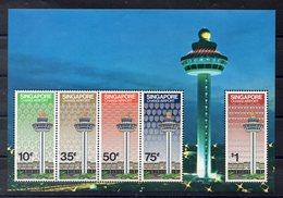SINGAPOUR   Timbres Neufs ** De 1981  (ref 5998 )    Aéroport - Singapour (1959-...)