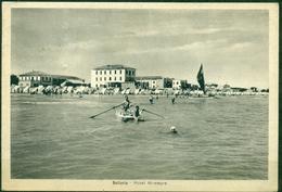 CARTOLINA - RIMINI - CV662 BELLARIA (Rimini RN) Hotel Miramare, FG, Viaggiata 1951, Ottime Condizioni - Rimini