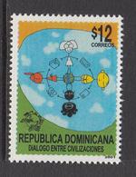 1999 Dominican Republic Dominicana  Dialogue Of Civilisations  Complete Set Of 1  MNH - Dominicaine (République)
