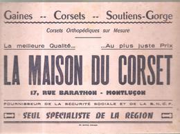 Buvard LA MAISON DU CORSET 17, Rue De BARATHON à Montluçon - Textile & Clothing