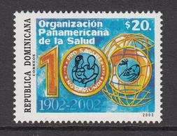 2003 Dominican Republic Dominicana  Pan American Health Organisation Complete Set Of 1  MNH - Dominicaine (République)