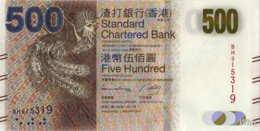 Hong Kong (SCB) 500 HK$ (P300) 2014 -UNC - - Hong Kong