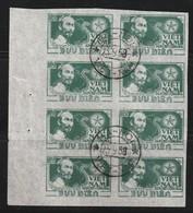 VIETNAM NORD - N°63  X8 Obl (1951) Hô Chi Minh - Vietnam