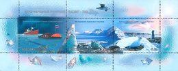 Russia, Polar Year, Birds, 2007, S/s Block Sheetlet - 1992-.... Federatie