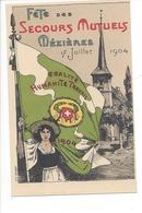 21366 - Mézières Fête Des Secours Mutuels 1904 Egalité Humanité Travail - VD Vaud