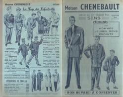 Buvard Maison CHENEBAULT 108-110-112-114 Grande Rue à Sens Vêtements Pour Hommes, Jeunes Gens; Enfants - Textile & Clothing