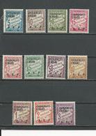 OUBANGUI Scott J1-J11 Yvert Taxe 1-11 (11) *  38,00 $ 1928 - Neufs