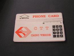Cape Verde Phonecards No 329A62086 - Cap Vert