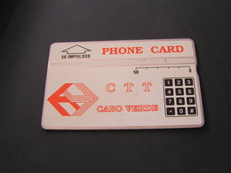 Cape Verde Phonecards No 329A62086 - Cape Verde