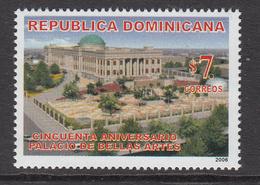 2006 Dominican Republic Dominicana  Fine Arts Palace Paintings  Complete Set Of 1  MNH - Dominicaine (République)