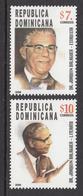 2006 Dominican Republic Dominicana  President Balaguer Complete Set Of 2  MNH - Dominicaine (République)