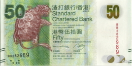 Hong Kong (SCB) 50 HK$ (P298) 2014 -UNC - - Hongkong