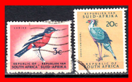 AFRICA SOUTH AFRICA / RSA 2 SELLOS - África Del Sur (1961-...)