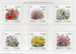 Malta - 2001 - Serie Ordinaria - Fiori Maltesi - 6 Valori - Nuovi - Vedi Foto - (FDC13901) - Malte