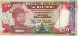 Swaziland 50 Emalangeni (P31) 2001 -UNC- - Swaziland